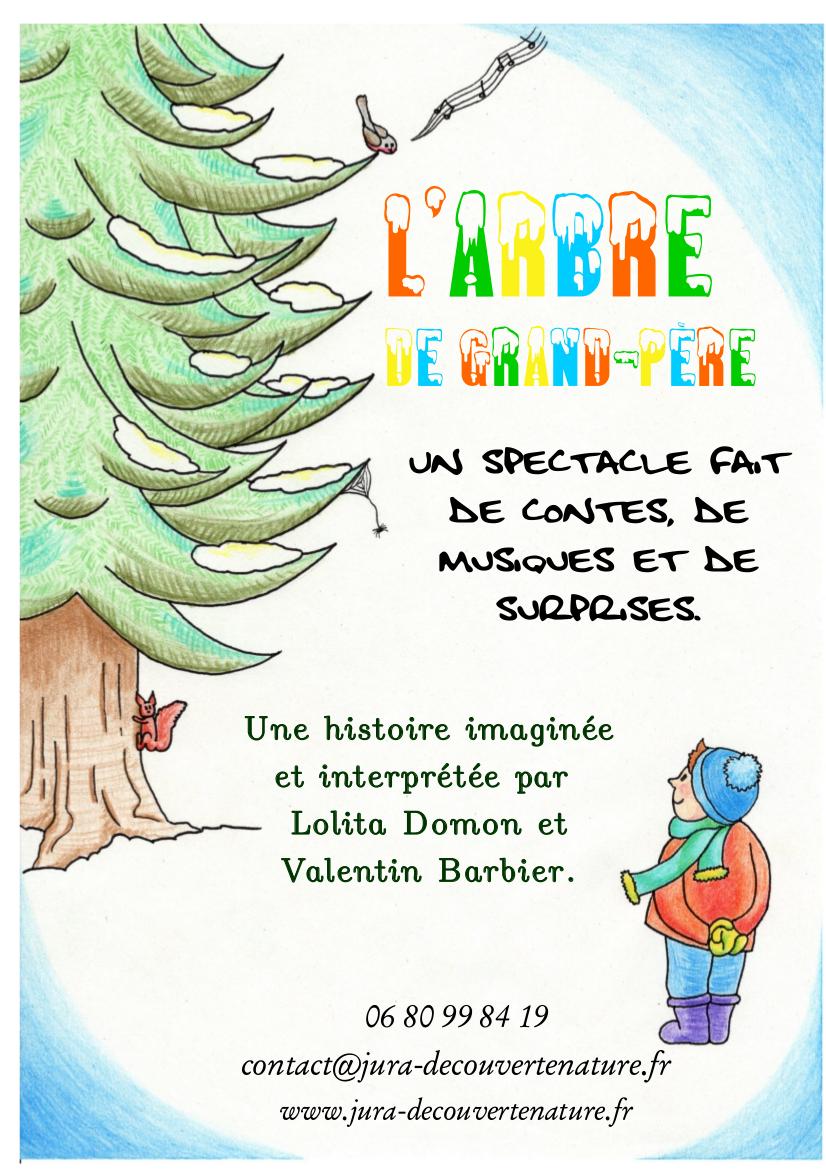 Spectacle de Noël : l'arbre de grand-père